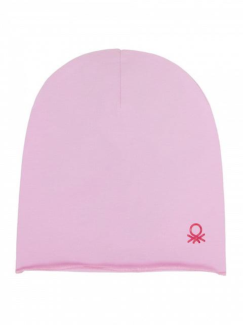 Шапка розовая Benetton 4865247