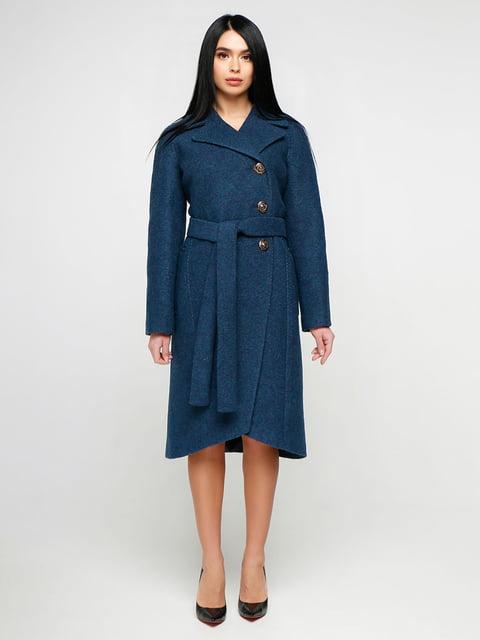 Пальто синє Favoritti 4886127