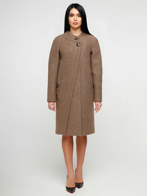 Пальто коричневе Favoritti 4886129