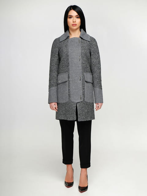 Пальто темно-серое Favoritti 4886135
