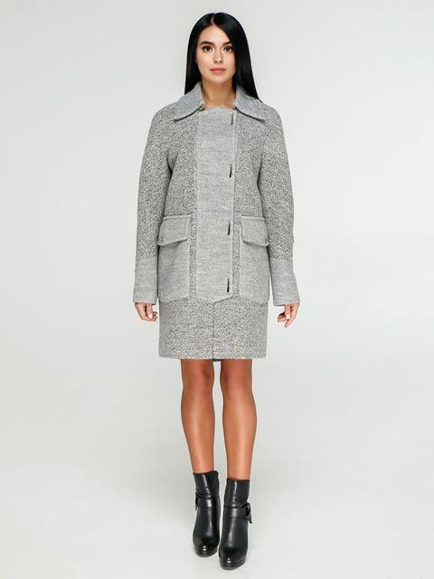 Пальто серое Favoritti 4886138