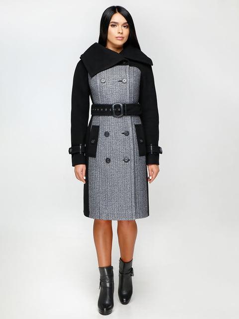 Пальто двоколірне Favoritti 4886140
