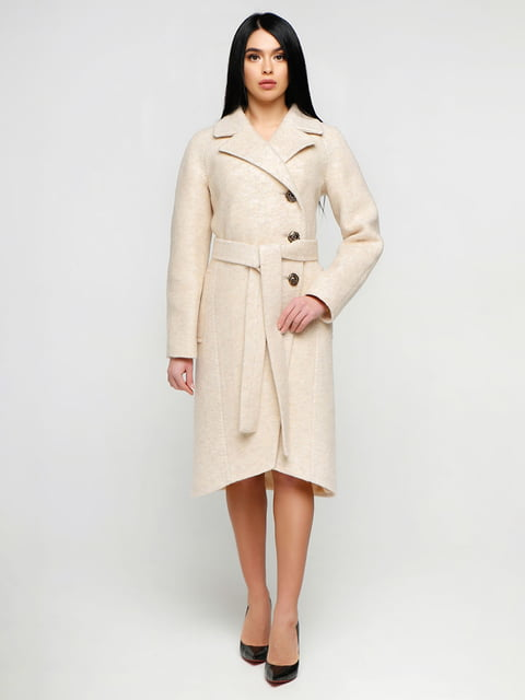 Пальто бежевое Favoritti 4886144