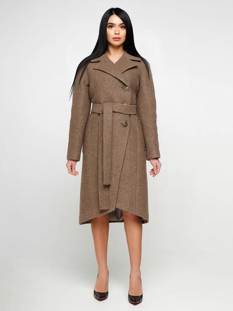 Пальто коричневое Favoritti 4886145