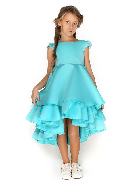 Сукня кольору морської хвилі Malyna 4886267