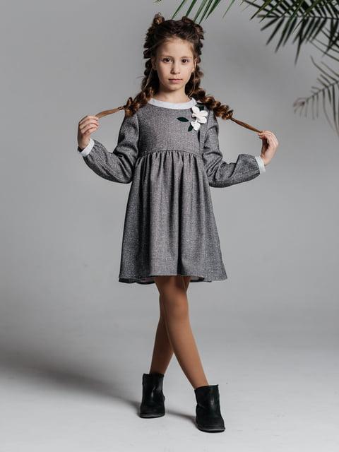 Сукня сіра Malyna 4886284
