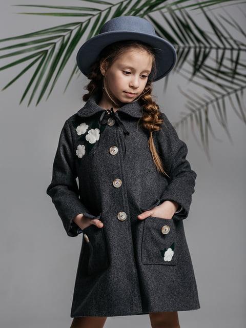 Пальто серое Malyna 4886287