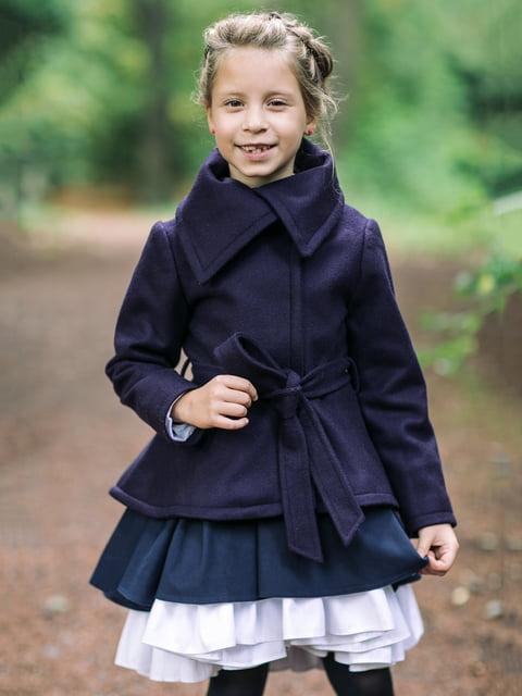 Пальто синее Malyna 4886310