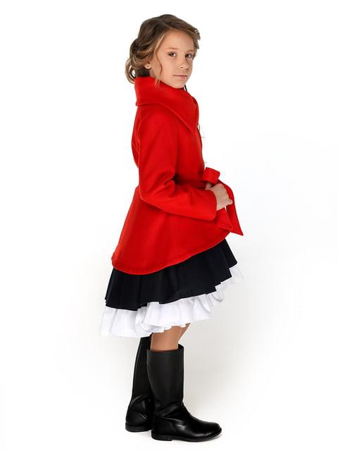 Пальто червоне Malyna 4886311