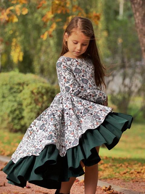 Сукня в принт Malyna 4886313