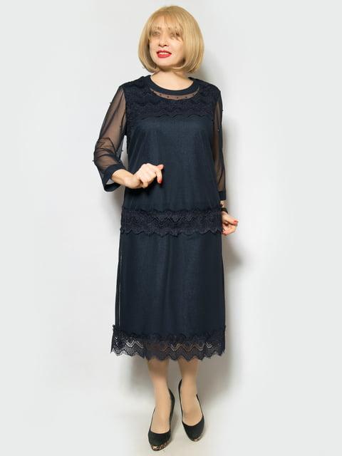 Сукня темно-синя LibeAmore 4887320