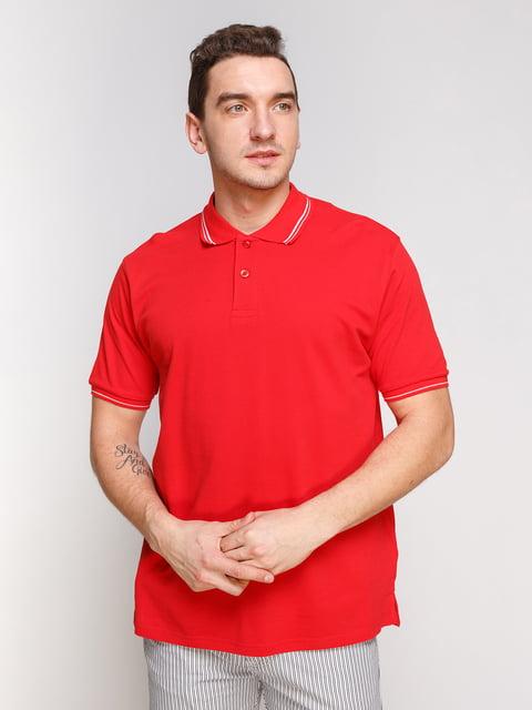 Футболка-поло червона Arber 4854921