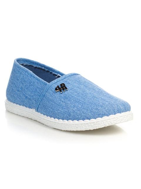 Слипоны голубые 4R Active 4828892