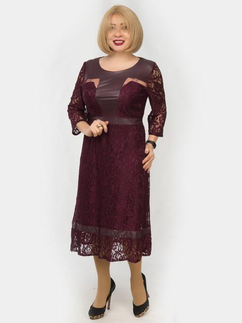 Платье цвета марсала LibeAmore 4888873