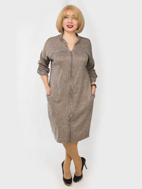 Платье коричневое LibeAmore 4888902
