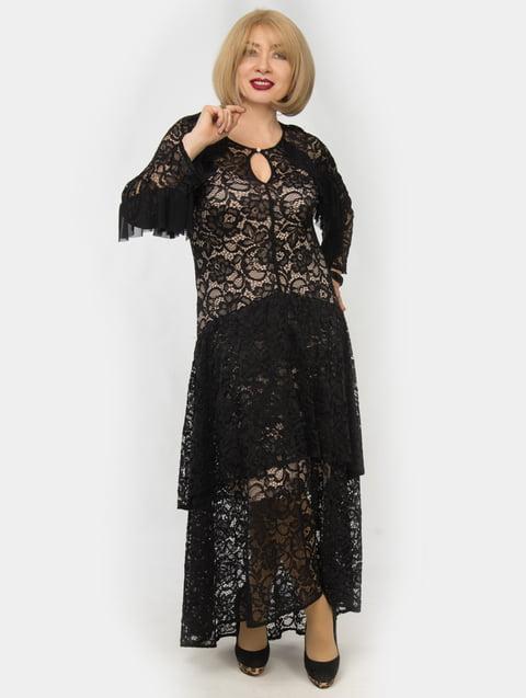 Платье черное LibeAmore 4888925