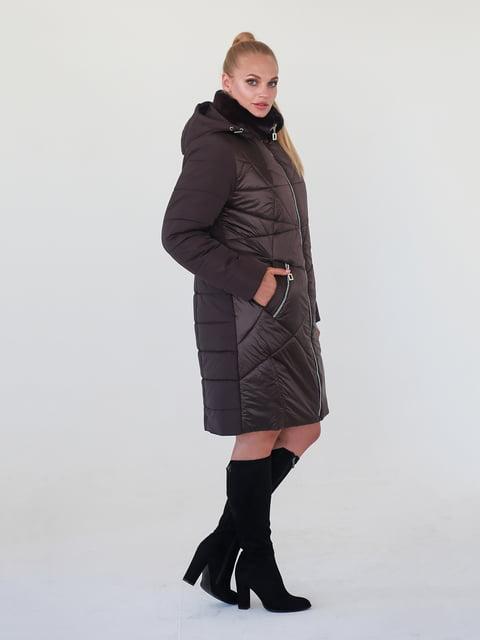 Пальто коричневе Waukeen 4888191