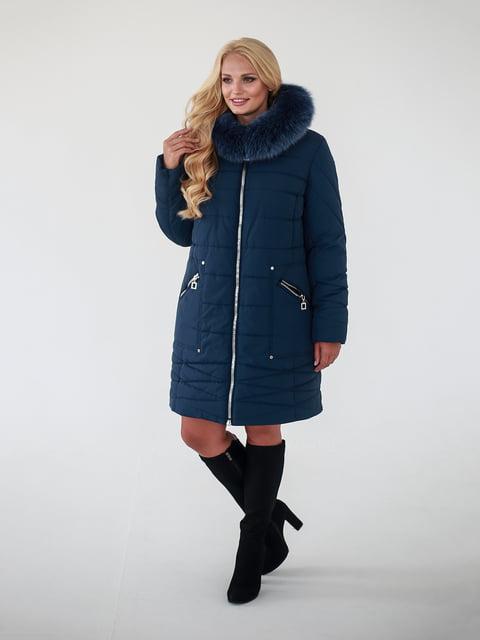 Пальто синє Waukeen 4888207