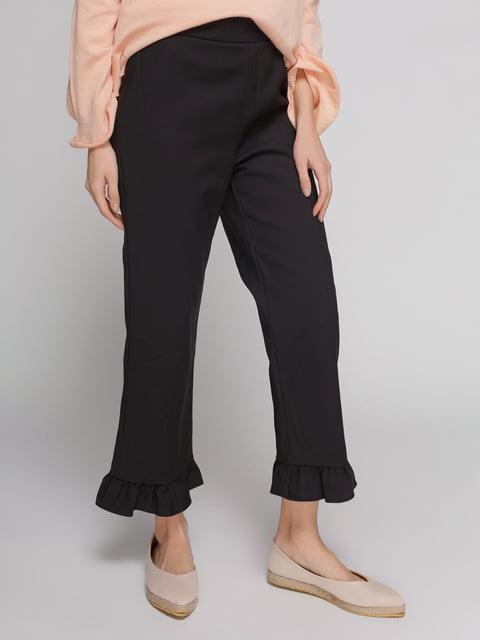 Брюки черные Zara 4876912
