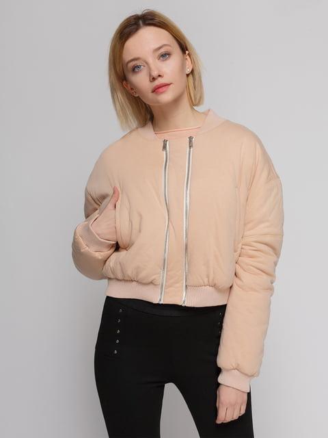 Бомбер розовый Zara 4874377