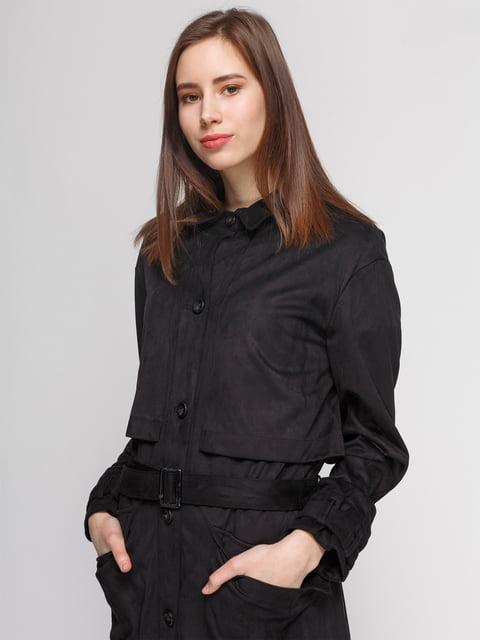 Плащ черный Zara 4874352