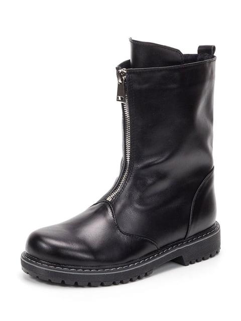 Полусапожки черные Tops 4889918