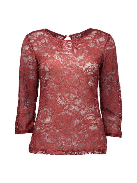 Блуза красная Piazza Italia 4879417