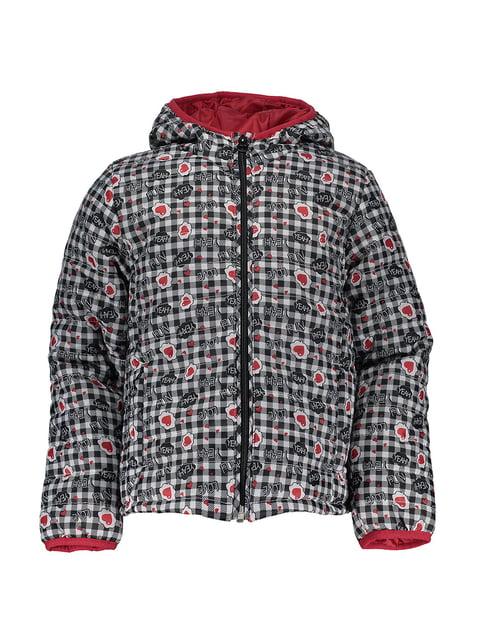 Куртка в клітинку з принтом Piazza Italia 4879551