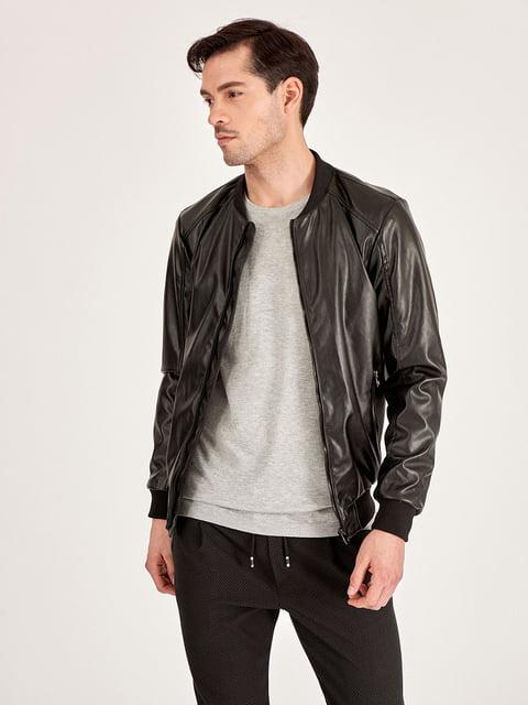 Куртка черная Piazza Italia 4879633