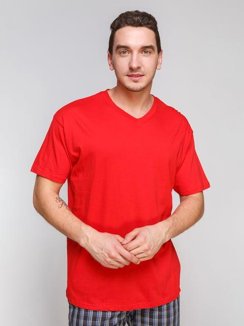 Футболка красная Arber 4854997