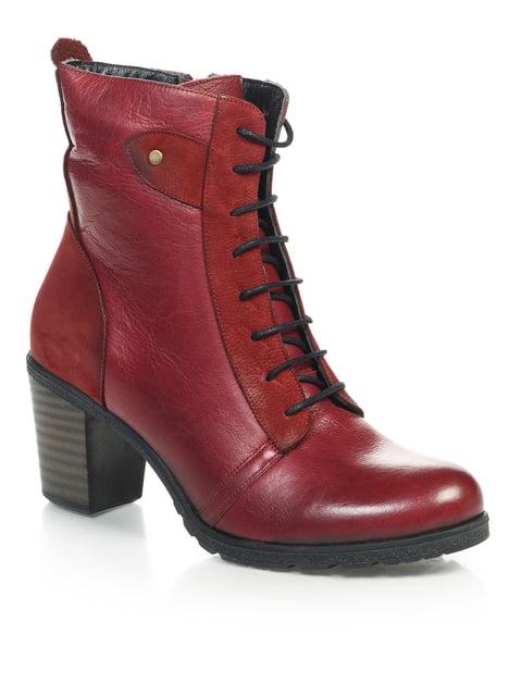Ботинки красные NUBE 4771470