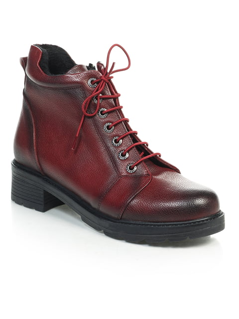 Ботинки бордовые NUBE 4771473