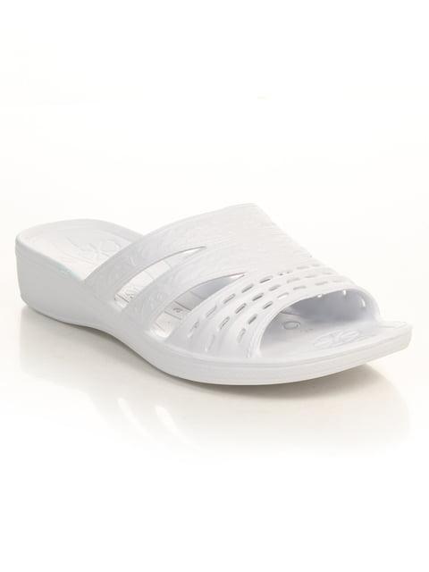 Шлепанцы белые DAGO 4890426