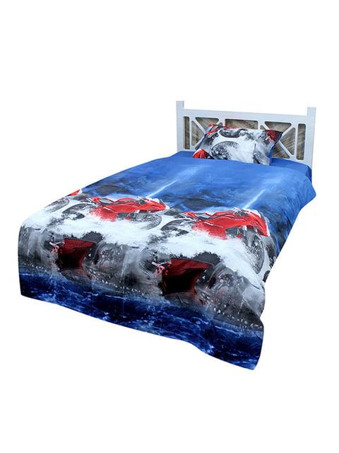 Комплект постільної білизни полуторний At Home 4891671