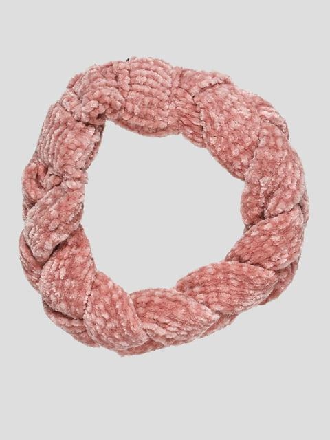 Пов'язка на голову рожева Zara 4874336