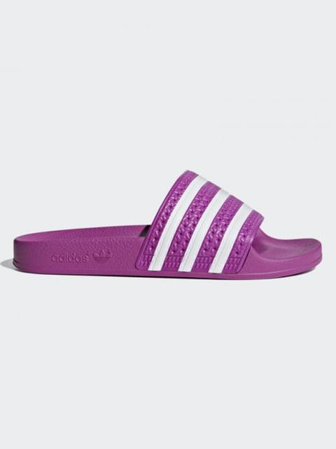 Шлепанцы фиолетовые Adidas Originals 4876866