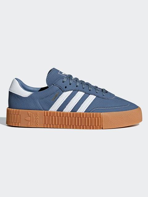 Кроссовки синие Adidas Originals 4876870
