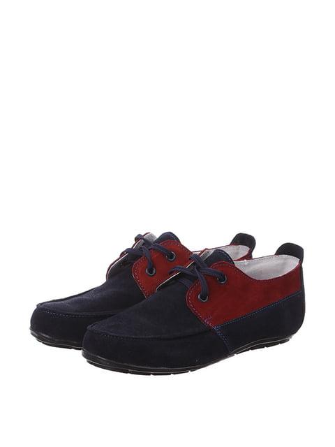 Туфлі двоколірні Pepik 4893142