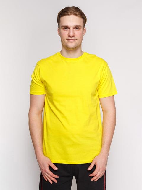 Футболка жовта Arber 4854909