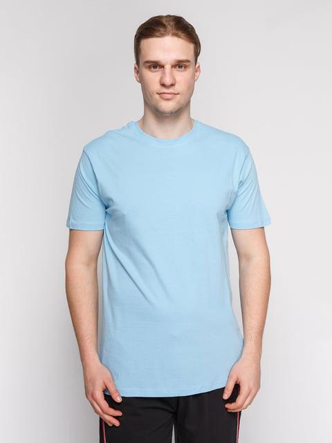 Футболка блакитна Arber 4854908