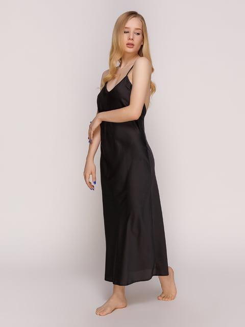 Рубашка ночная черная Lapin 4588199