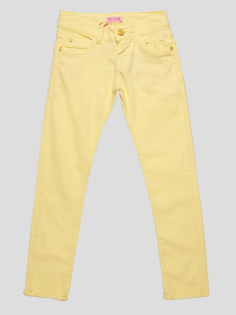Штани жовті Keyiqi 4890771