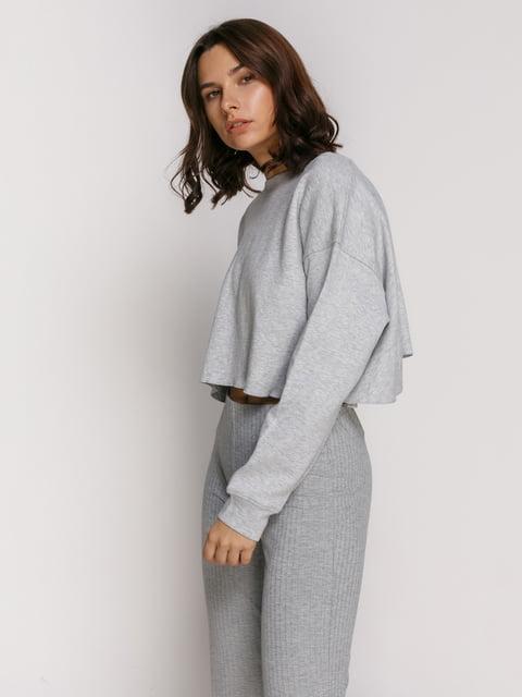 Джемпер сірий Zara 4873101