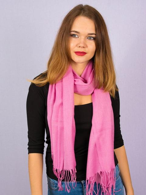 Палантин розовый Fashion Look 4894235