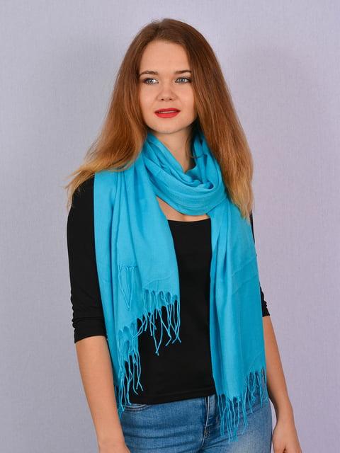 Палантин голубой Fashion Look 4894252