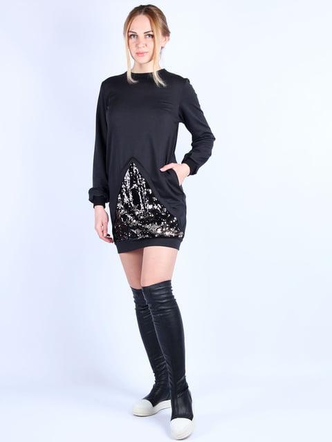 Платье черное MOONLIGHT 4894044