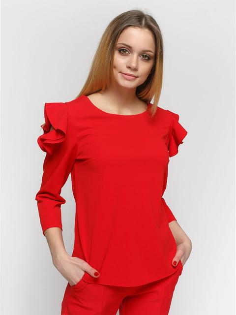 Блуза червона Zubrytskaya 4891461