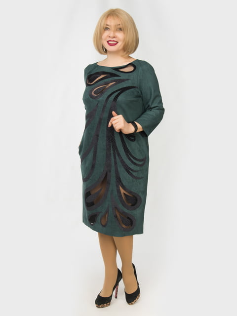 Сукня зелена з малюнком LibeAmore 4888885