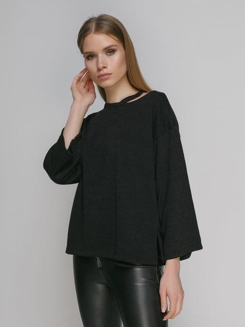 Джемпер чорний Zara 4874542