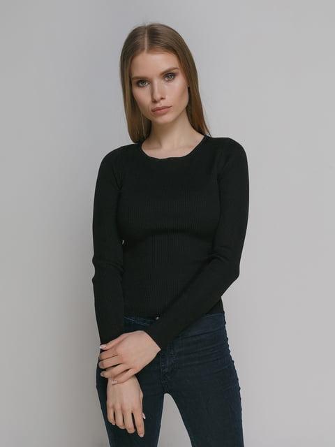Джемпер чорний Zara 4874549